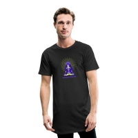 Ganesha Men Yoga Long Tshirt