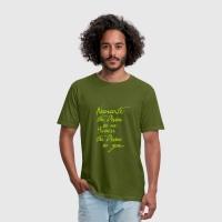 Namaste Tshirt Men in Grün