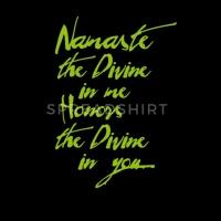 Namaste Motiv Yogagruss