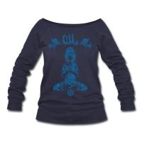 Yoga U Boot Sweatshirt kuschelig mit OM Motiv