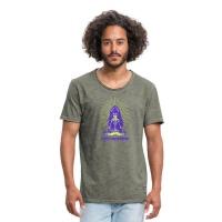Yoga Shirt Männer Ganesha