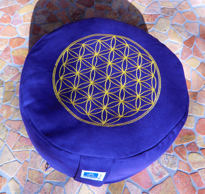 Blume des Lebens Meditationskissen
