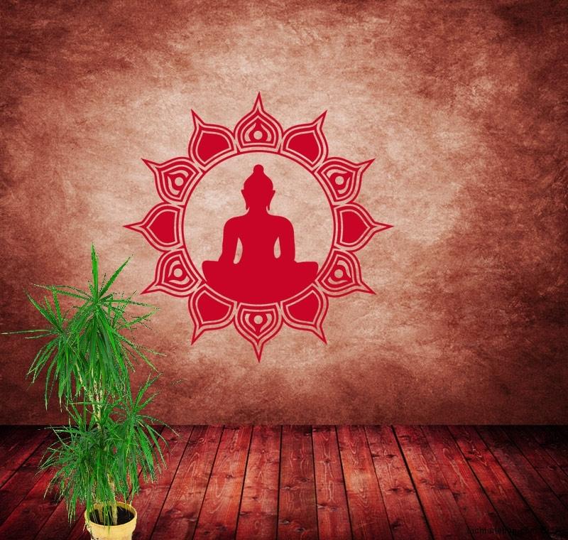 f r buddhismus fans das buddha sonnne wandtattoo blog. Black Bedroom Furniture Sets. Home Design Ideas