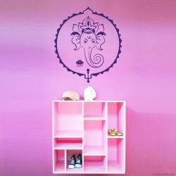 Ganesha Freude Wandtattoo