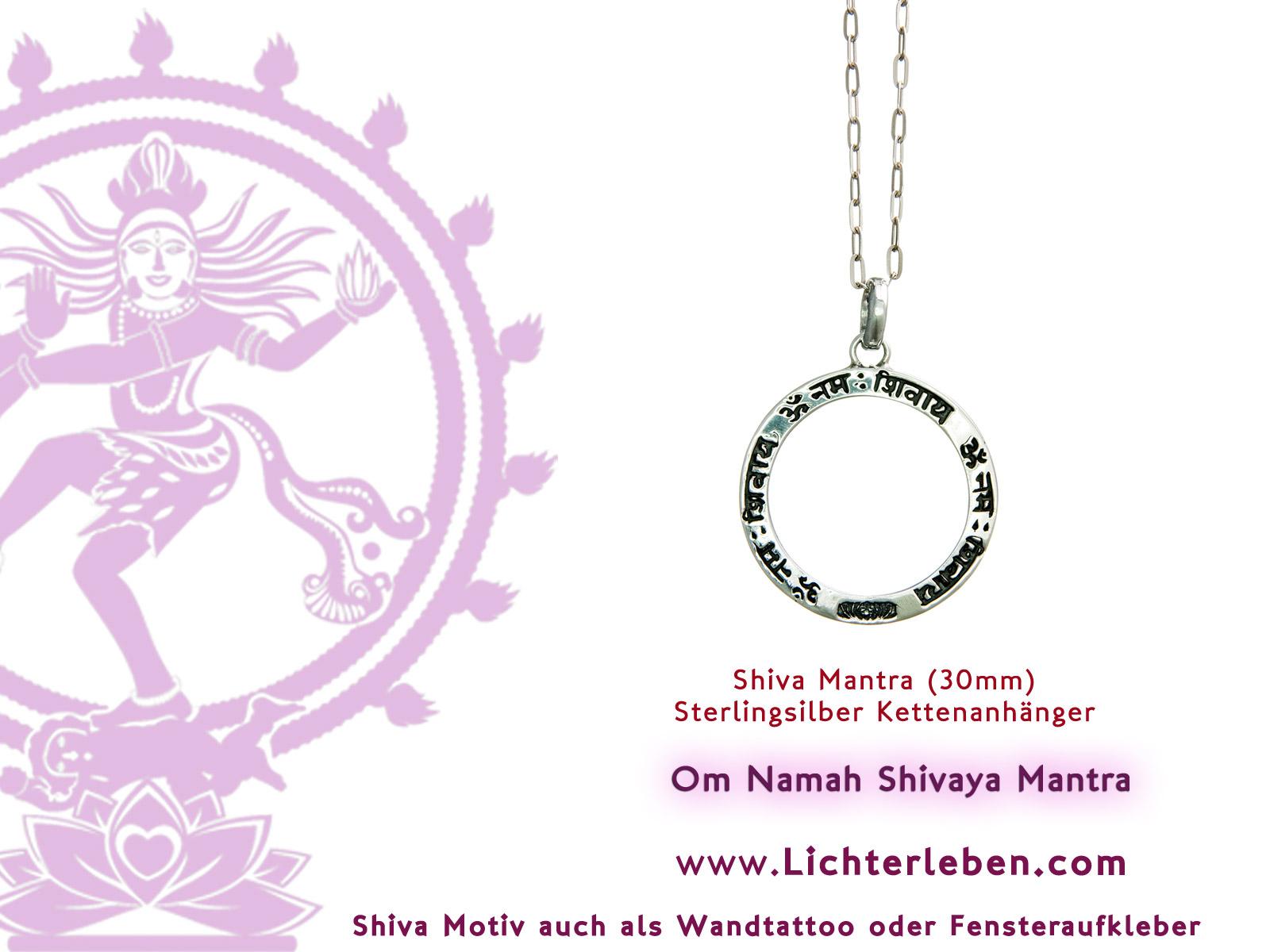 Shiva Mantra Anhänger