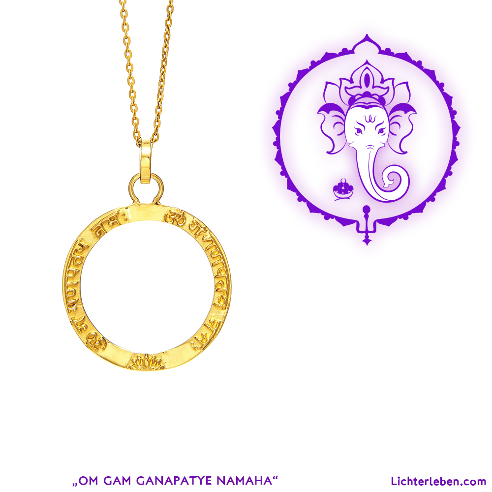 Ganesha Mantra Gold