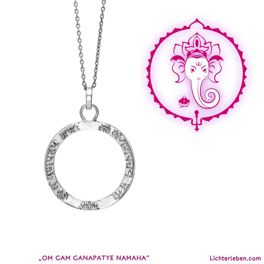 Ganesha Mantra Silber