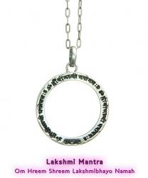 Lakshmi Mantra Anhänger