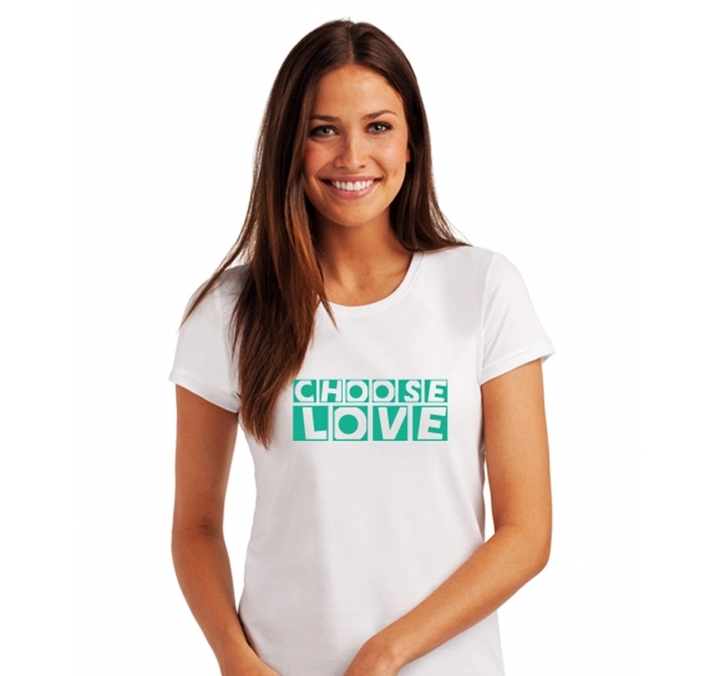Organic Choose Love Tshirt