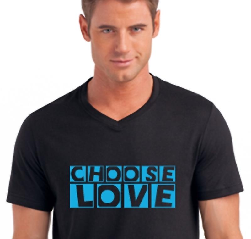 Choose Love für den trendbewusssten Mann