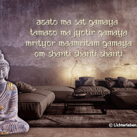 Medizin Buddha Mantra Wandtattoo