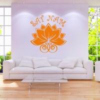 Sat Nam Mantra Wandtattoo sehr beliebt bei Kundalini Yoga Fans