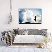 Yoga  Fotomotiv als Wandbild