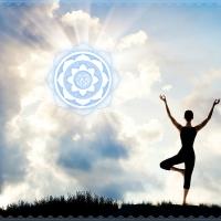 Wandbild Yoga Baum Asana