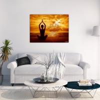 Wanddekoration Lotus OM