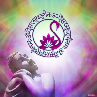 Wanddeko Saraswati Mantra