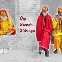 Wandbild Shiva Mantra