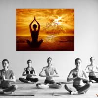 Wand Yoga Bild Deko für den Innenraum