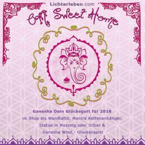 Ganesha Produkte von Lichterleben Wandtattoos