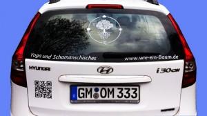 Autoaufkleber von Lichterleben.com