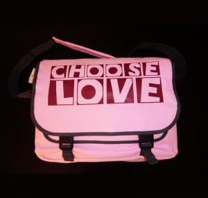 Choose Love Freizeittasche