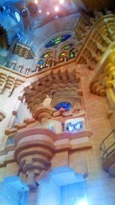 Geometrische Symmetrie der Architektur von Gaudi