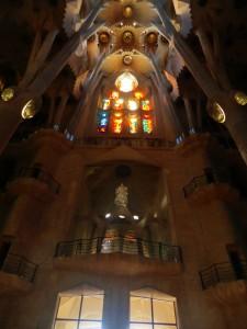 Symmetrie in der Gaudi Architektur