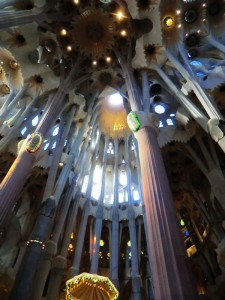 Sagrada Familia Lichtimpression