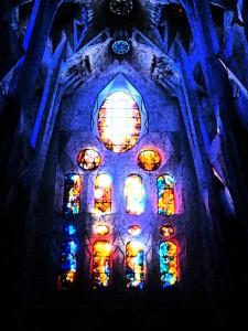 Lichtimpression bearbeitet mit Photoshop