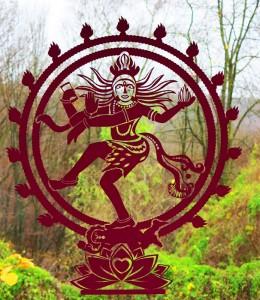 Shiva Tattoo Fensteraufkleber