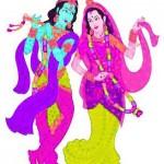 Krishna und Rama