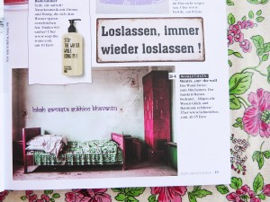 Mantra Wandtattoo im Yoga Deutschland Magazin