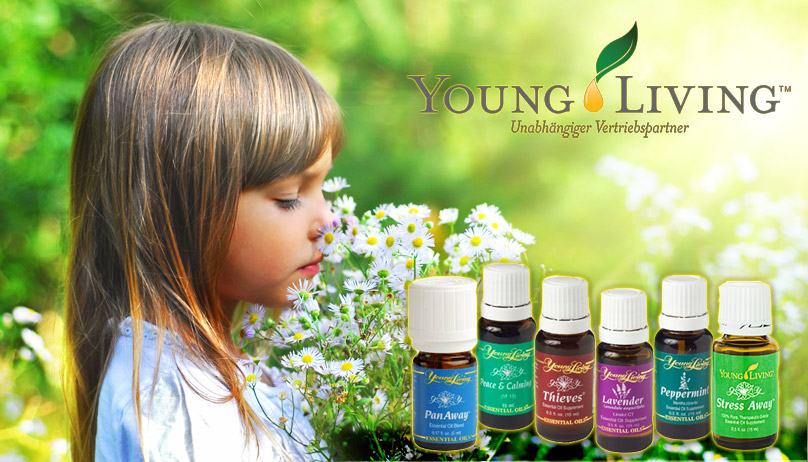 Young Living Aetherische Oele in Therapeutischer Qualitaet