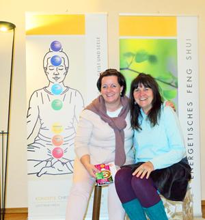 Christiane Papnbreer und Ella Bley Feng Shui Beraterin; Designerin