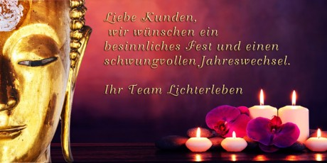 Frohes Fest und Guten Rutsch 2016 wünscht Lichterleben.com