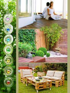 Freiluft Wohnen Chillout Lounge Yoga Meditation Ruhe Zone für Draussen