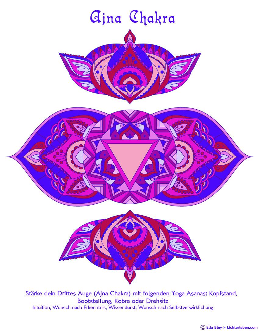 Chakra Mandala zum Ausmalen Download