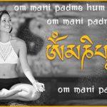 Mantra Mantra Wandtattoo von Lichterleben