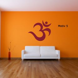 Mantra Wandtattoo yoga yogastudio