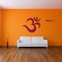 Mantra Wandtattoo yoga yogastudio