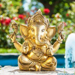 Ganesha Produkte Statuen Messin Silber