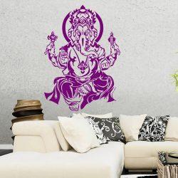 Ganesha Wandtattoo Wandaufkleber