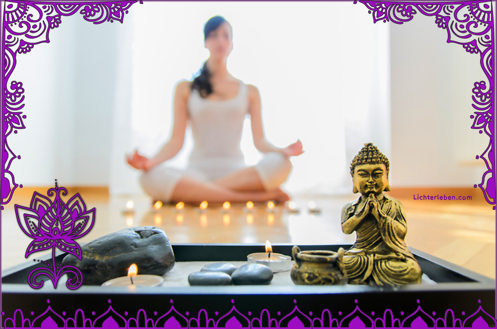 Meditation in der Glücksoase