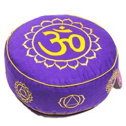 Chakra Yoga Om Symbol Meditationskissen