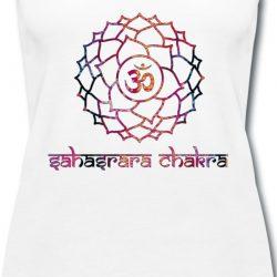 Kronenchakra Yoga Tshirt