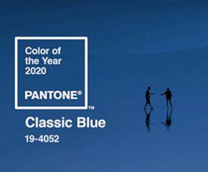 Trendfarbe2020 Classic Blue Pantone