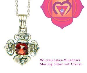 Muladhara Chakra Granat
