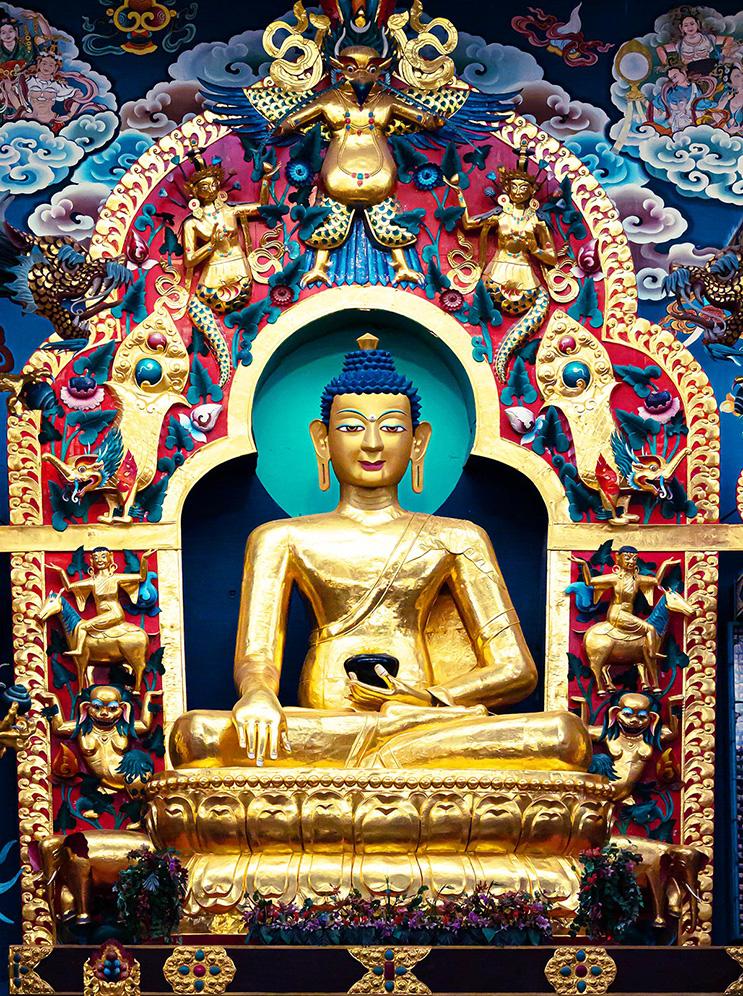 Medizin Buddha Tibet