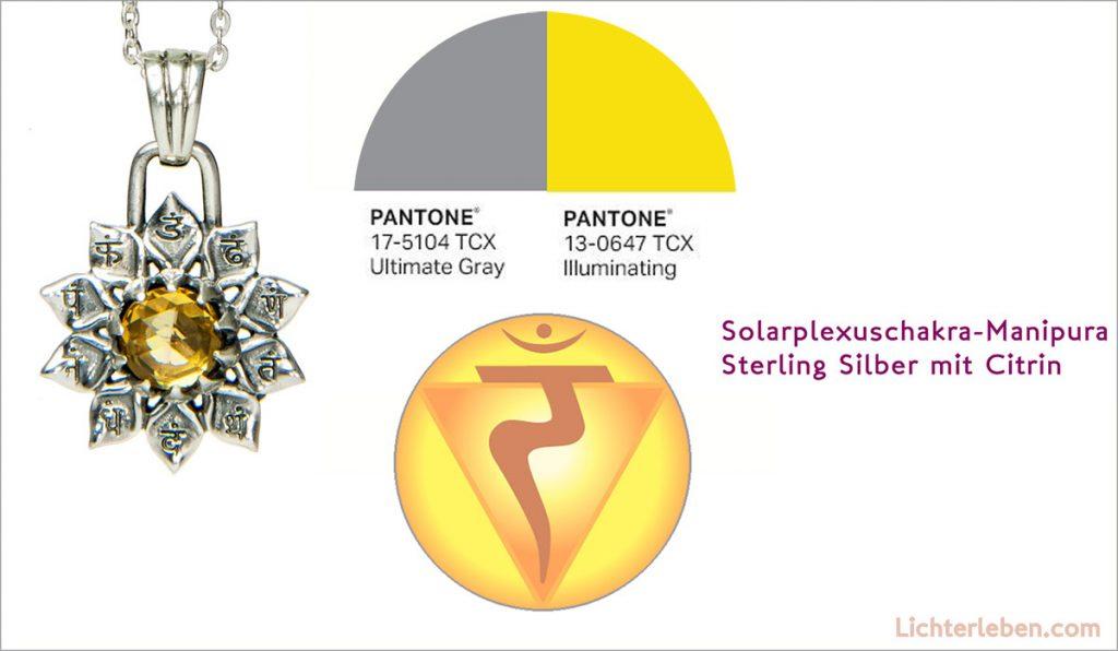 Pantone Farben 2021 mit der Chakra Inspiration aus der Yogawelt