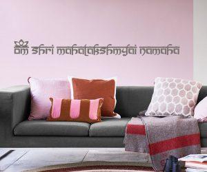 Wandtattoo Lakshmi Mantra